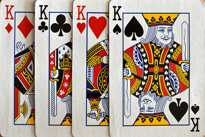 Kings of Diamonds, Clubs, Hearts, Spades
